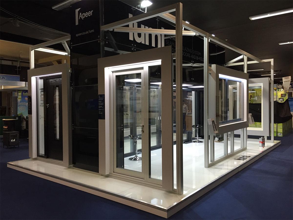 Exhibition Stand Builders Dublin : Lumi self build dublin leaf exhibitions